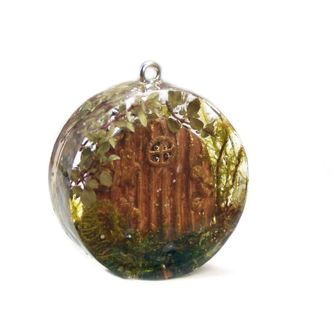 Hobbit Dwelling Necklace Pendant