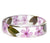 Pink Wildflower Resin Bracelet