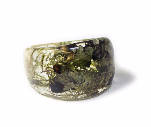 Forest Mix Ring, Sizes 5-9