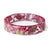 Valentines Day Flowers Resin Bracelet