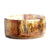 Gold Forest Resin Bracelet