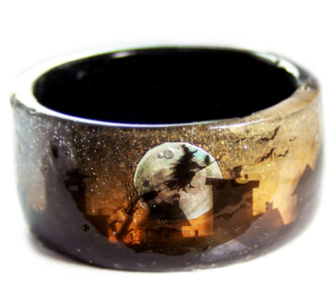 October Night Resin Bracelet