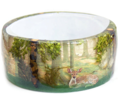 Friends of the Forest Resin Bracelet