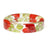 Red Rose Garden Resin Bracelet