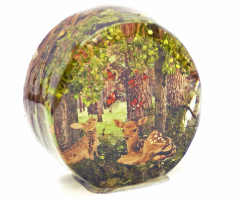 Friends of the Forest Resin Sculpture
