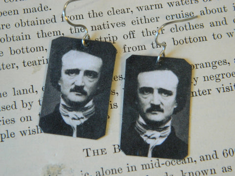 Edgar Allan Poe Earrings