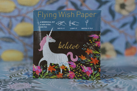 Unicorn - Mini Flying Wish Paper Kit