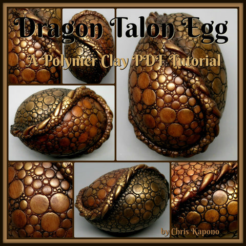 Brown Talon Dragon Egg Tutorial