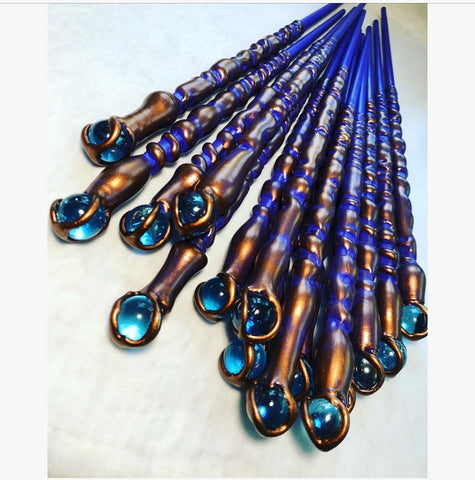 Fairy Wand with Blue Bauble