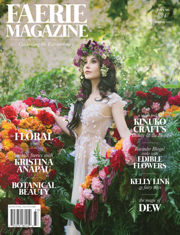 Faerie Magazine Issue #34, Spring 2016, Print