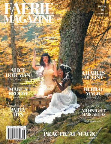 USA: Faerie Magazine Issue #40, Autumn 2017, Print
