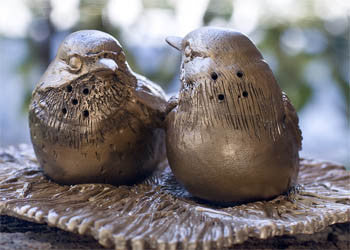 Kirtland Warbler Salt and Pepper Shakers