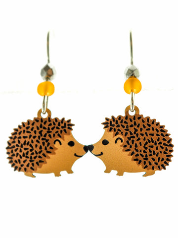 Hedgehog Earrings!