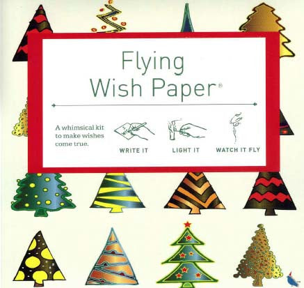 SHIPPING 12/15: Holiday Trees- Mini Wish Kit