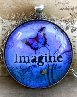 Imagine Looking Glass Pendant