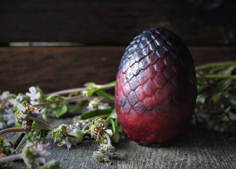 Red Dragon Egg Soap