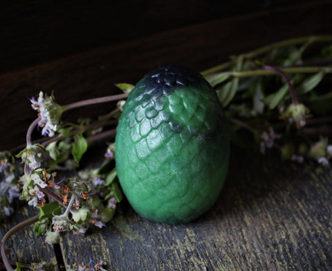 Green Dragon Egg Soap