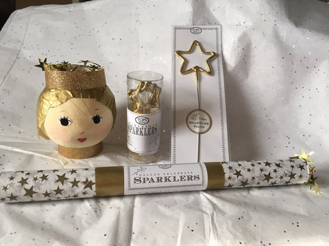 New Year's Angel Sparkler Set