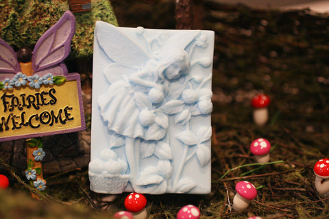 Blue Fairy with Berries Soap