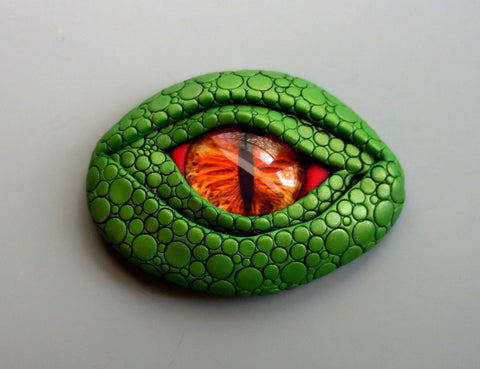 Green Dragon Eye Magnet