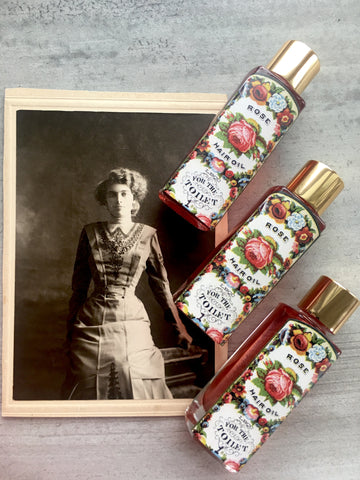 1871 Rose Hair Oil