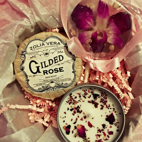 "Valentine's Day ""Flower Girl"" Gift Box"