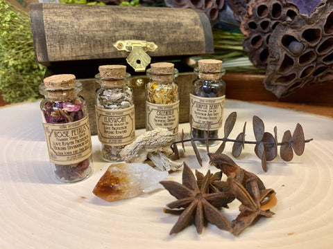 Apothecary Kit -- Enchanted Forest Themed
