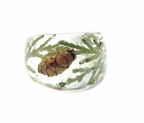 Cedar Forest Ring, Sizes 5-9