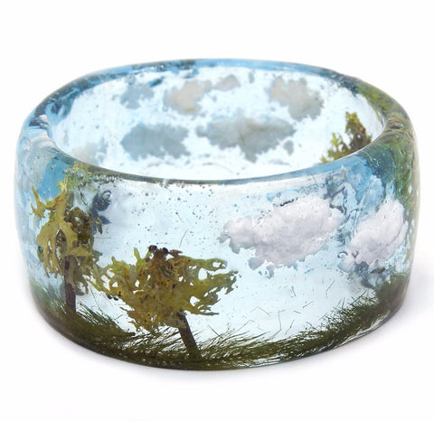 Summer Meadow Resin Bracelet