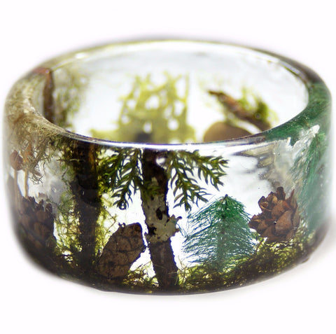 Magical Forest Terrarium Bracelet