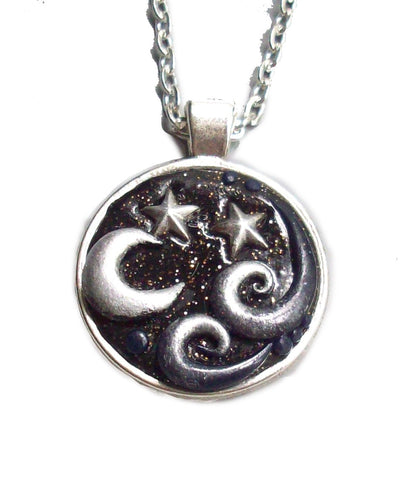 Midnight Moon Pendant