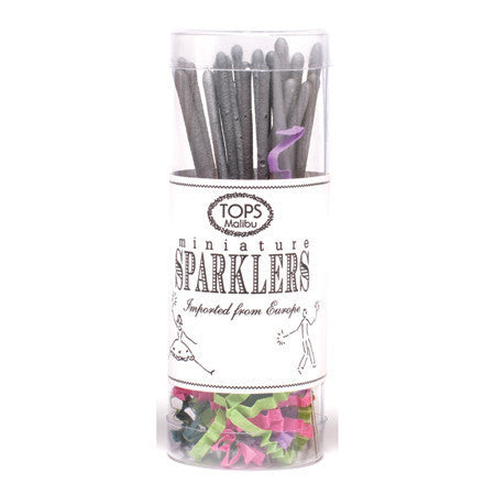 Mini Silver Sparklers - Set of 16