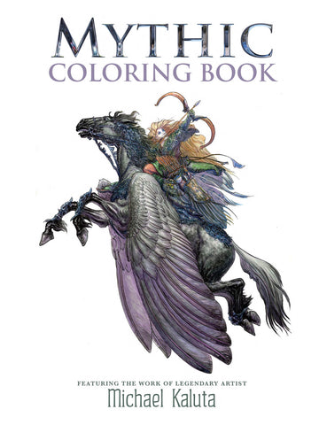 Mythic Coloring Book PDF: Michael Kaluta