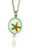 "Starfish Small Round 16"" Pendant with Drop"