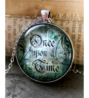 Once Upon a Time Looking Glass Pendant