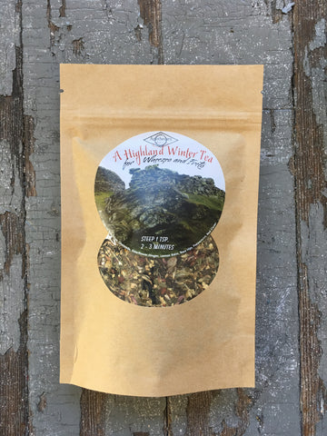 Outlander Inspired Highland Winter Tea