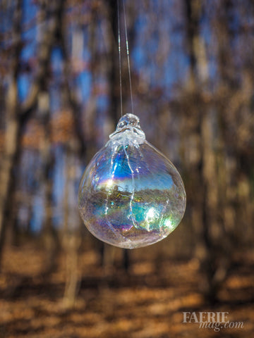 Magical Glass Fairy Orb - Crystal