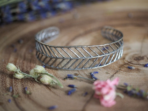 Filigree Cuff Bangle