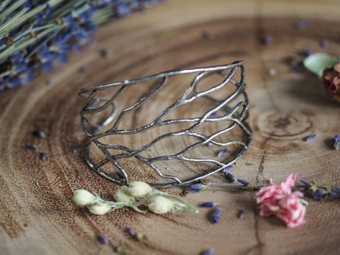 Branched Bangle Cuff