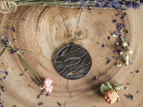 Branch Medallion Necklace