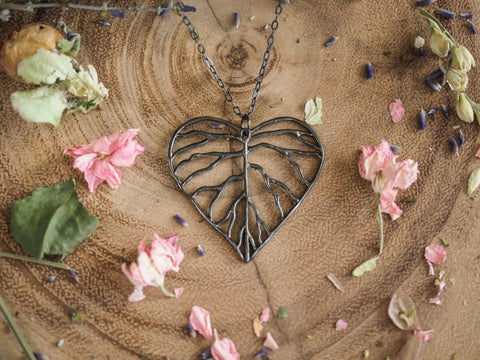 Heart Branch Necklace
