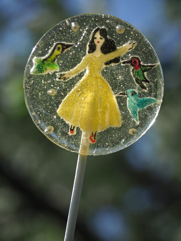 Hummingbird Dancer Lollipop (One)