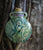 Raku Fairy Bottle with Cork