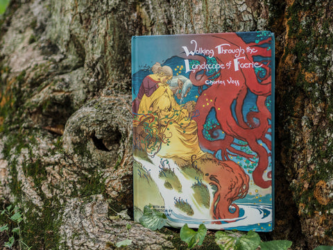 WALKING THROUGH THE LANDSCAPE OF FAERIE by Charles Vess
