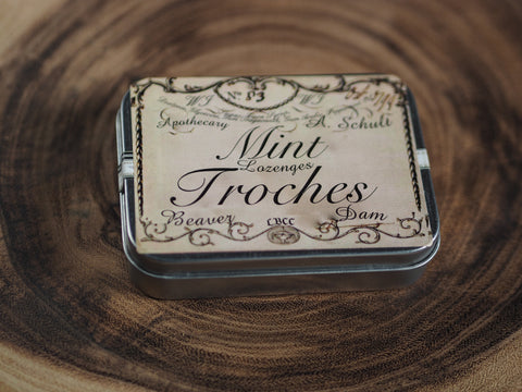 Mint Troches - Historical Lozenge