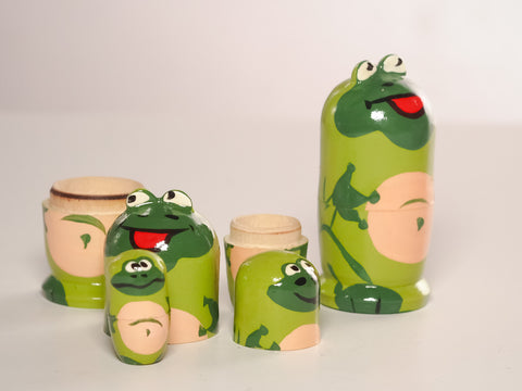 Frog Nesting Doll - Smallest like grain of rice!