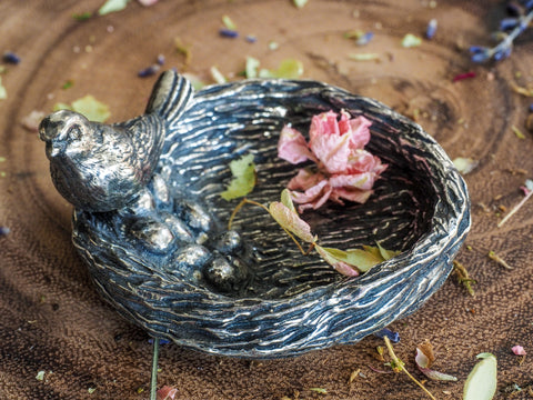 Bird Nest Jewelry Dish