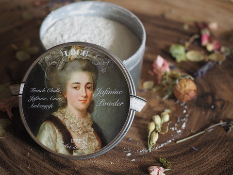 1772 Finely Perfumed Jasmine Hair And Body Powder