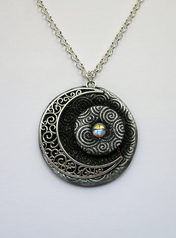 Partial Eclipse Celestial Pendant
