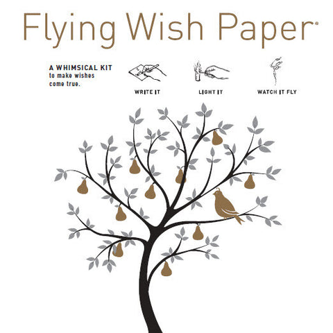 Pear Tree - Mini Flying Wish Paper Kit